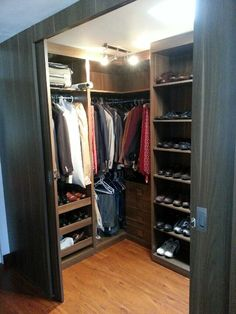 Men 39 S Closet Organizer On Pinterest Men Closet Closet