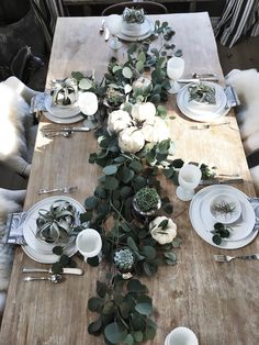 Thanksgiving table inspiration No.2 – Greige Design