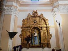 Iglesia de Santo Tomas. Capilla de la Virgen de Fátima, antes del Rosario.