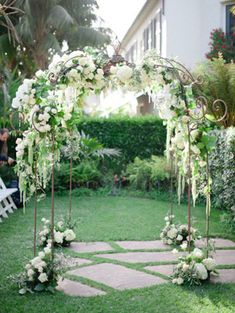 40 цветочных арок для весенней свадьбы - The-wedding.ru