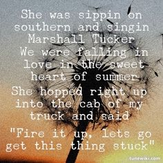 """-- #LyricArt for """"Cruise"""" by Florida Georgia Line -- We were falling in love <3 -- Hell, I can't get you out of my head <3 --"""