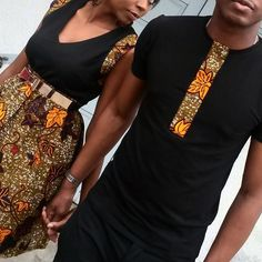 ...now, this his and hers I would do #nanawax#Africanfashion #Africanprints