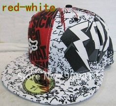 eb0af372fcf Free Shipping Letters graffiti printing flat brimmed hat