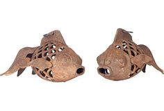 Koi-Fish Lanterns, Pair on OneKingsLane.com