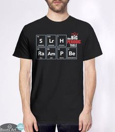 """The Big Bang Periodic Table"" Big Bang Theory Hoodie 
