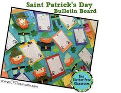 Clutter-Free Classroom: St. Patrick's Day Bulletin Board