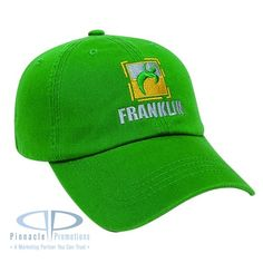 Deal of the Month June - Unstructured Relaxed Golf Cap with logo, as low as $5.63.  Available in 20 colors.