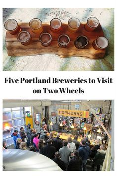 The capital of craft beer in the US, the City of Portland alone houses 61 breweries pouring delicious Northwest favorite libations like IPAs, Imperial Reds, or Cascadia Dark Ales. It's no doubt that visiting the various Portland Breweries is top on the list for locals and visitors alike.  Most breweries offer sampler menus, so you can try more than one beer, while reducing your alcohol consumption between pubs.: