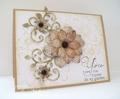 Emmie-Lou Who...Stamps & You!: Heartfelt Creations: Sun Kissed Fleur debut!!!