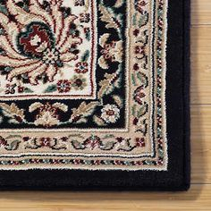 Nice Thomasville Timeless Classic Rug Collection   Willington Black