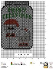 Fantastic Christmas Mason Jar DIY: Gifts in a Jar Plastic Canvas Ornaments, Plastic Canvas Crafts, Plastic Canvas Patterns, Mason Jar Gifts, Mason Jar Diy, Homemade Christmas Presents, Christmas Crafts, Canvas Signs, Canvas 5