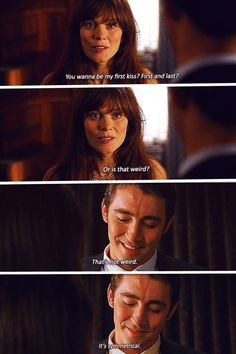 "Pushing Daisies "" Pie-lette "" ( 1x01 ) - Ned and Chuck #LeePace #AnnaFriel - The First and The Last Kiss"