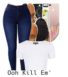"""""""topshop contest"""" by geazybxtch24 ❤ liked on Polyvore featuring Topshop and blomus"""