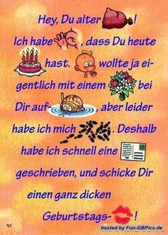 Spektakulär GBPics - Fotos un. Birthday Greetings, Birthday Wishes, Birthday Cards, Happy Birthday, Feeling Pictures, Happy B Day, Disney Tattoos, Funny Jokes, Birthdays