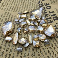 Find More Beads Information about Wholesale Gold Champagne Color Glass Crystal Fancy Stones Droplet,Oval,Navette,Rivoli Hotsale Sizes Golden Shadow Jewelrys,High Quality jewelry gif,China stone bottom Suppliers, Cheap stone pendant jewelry from Ifirstyle Rhinestone Online-Factory Direct Sale! on Aliexpress.com