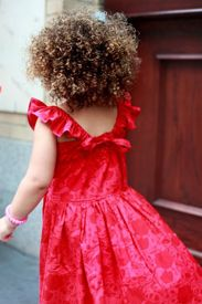 Great curls on a cute little girl #curlyhair