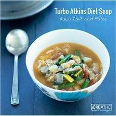 This delicious low carb chicken soup recipe is loaded with healthy veggies. Featured in Woman's World Magazine as Turbo Atkins Diet Soup!