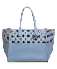Look what I found on #zulily! Sky Blue La Mar Perforated Tote by emilie m. #zulilyfinds
