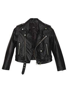 Nasty Gal Moto Zip Crop Jacket - Jackets | Moto + Leather | Jackets + Coats | Jackets + Coats