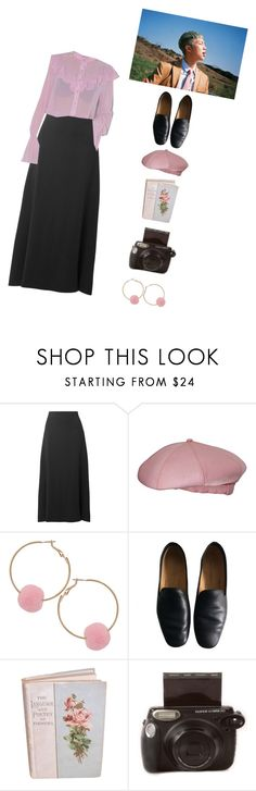 """""""Like a flower"""" by kittykarina ❤ liked on Polyvore featuring The Row, GET LOST, Norman Norell, Humble Chic, Lemaire and Fujifilm"""