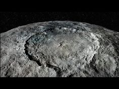 Flight Over Dwarf Planet Ceres - YouTube