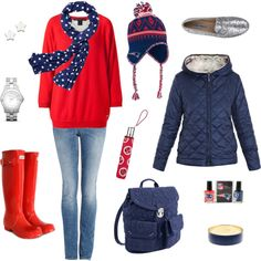 Game Day Style: New England Patriots, created by verabradley.polyvore.com