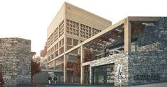 """10 Beğenme, 1 Yorum - Instagram'da KaraatlıAtan Architects (@karaatliatan): """"Uzundere Cemevi ve Sosyokültürel Merkez Proje Yarışması Uzundere Cemevi and Sociocultural Center…"""""""