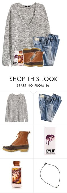 """""""Untitled #587"""" by legitmaddywill ❤ liked on Polyvore featuring H&M, L.L.Bean, Kylie Cosmetics and New Directions"""