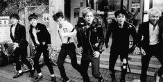 {BTS's J-Hope, Jungkook, Jin, Suga, Rap Monster, Jimin, V} Well, I had a fun time watching em! xD