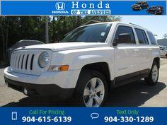 2014 Jeep Patriot Sport 40k miles Call for Price 40644 miles 904-615-6139 Transmission: Automatic  #Jeep #Patriot #used #cars #LouSobhsHondaoftheAvenues #Jacksonville #FL #tapcars
