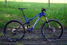2016 Ghost Slamr 130mm alloy trail bike using all new AMR platform
