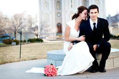 Jacki & Andy | Salt Lake City Utah Temple Bridal Photography » akstudiodesign.com