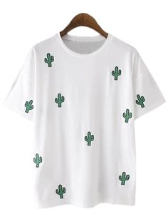 http://fr.shein.com/White-Cactus-Embroidery-Casual-T-shirt-p-268881-cat-1738.html