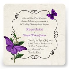 ReviewChic Vintage Purple Butterflies Wedding InvitationWe provide you all shopping site and all informations in our go to store link. You will see low prices on