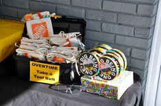 Construction / Birthday / Party Favors: