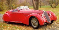 Alfa Romeo 8C 2900B Spider Touring