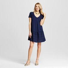 Women's Eyelet V-Neck Layered Dress - Knox Rose™ : Target