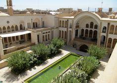 Manouchehri House, Kashan, Iran; by Akbar Helli and Shahnaz Nader
