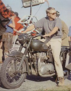 Steve McQueen | Back Set of The Great Escape | 1963 | as Hilts 'The Cooler King'