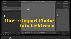 If you are new to Lightroom, the first thing you need to do after installing the software, opening it up, and taking a look around is import some photos. As Lightroom is a database you can't open photos in it the same way you can in Photoshop – instead, you have to import your photos …