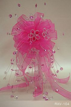quinceanera centerpieces with glitter stems - Google Search