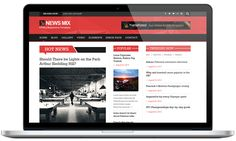 News-mix is a Responsive Magazine Wordpress Theme designed specifically for the magazine websites. The theme is a clean, nice and fully responsive magazine WordPress Theme. With its professional layout, it's easy to customize. It provides everything you'll need to create a professional looking website.