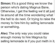 What about lemonade with GLITTER in it to get money