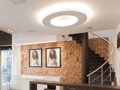 Lámpara semiencastrada con luz directa USL 900 DISK Colección Out by FLOS