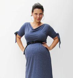 Maternity dress $59.00, via Etsy.