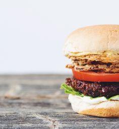 the best damn vegan burger