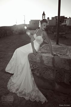 zoog bridal studio 2013 wedding dress spaghetti straps