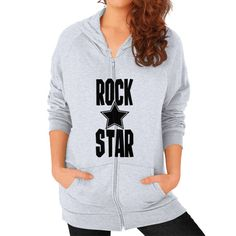 Now avaiable on our store: Rock Star Typogra... Check it out here! http://ashoppingz.com/products/rock-star-typography-womens-zip-hoodie-1?utm_campaign=social_autopilot&utm_source=pin&utm_medium=pin