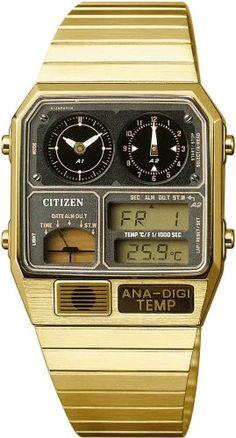 CITIZEN : CITIZEN 腕時計 ANA-DIGI TEMP アナデジテンプ JG2092-51E7 | Sumally (サマリー)