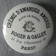 Antique French Advertising Pot Lid .... by CuriousGoodsTrader